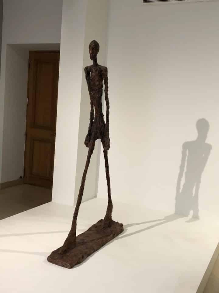 GIACOMETTI AU MUSEE MAILLOL