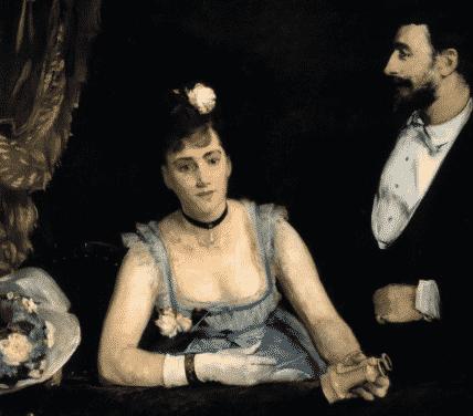 EVA GONZALES PEINTRE TALENTUEUSE 1849-1883