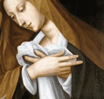 AU 16ème siècle, une italienne Pulisena Nelli peint au couvent !!